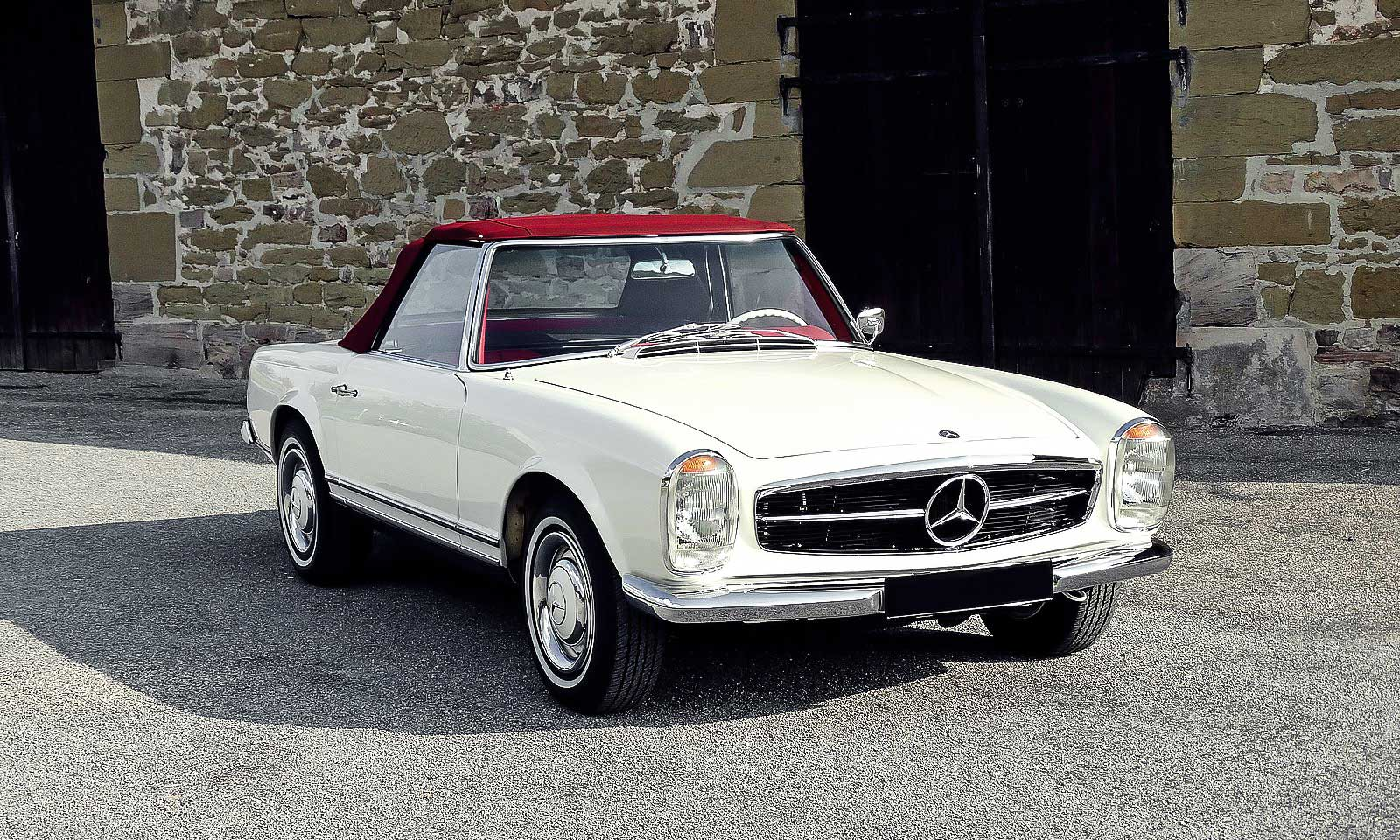 mercedes benz 230 sl pagode verkauft gerhard. Black Bedroom Furniture Sets. Home Design Ideas